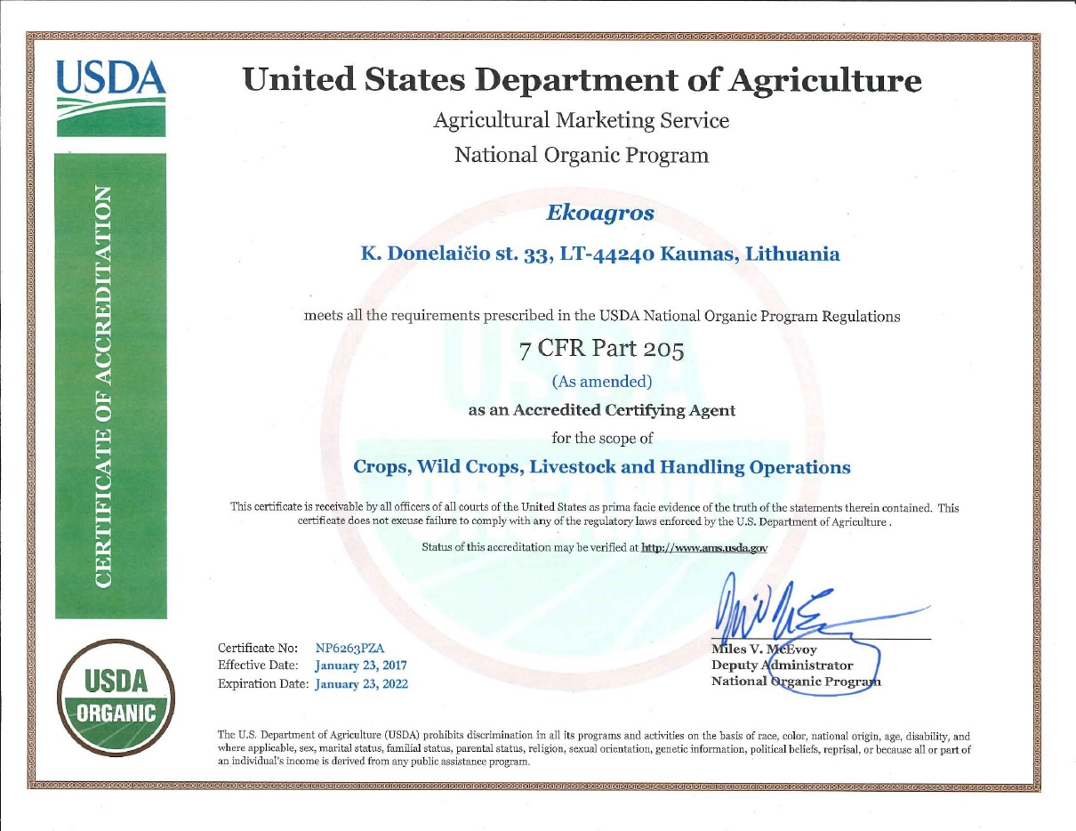 NOP sertifikatas