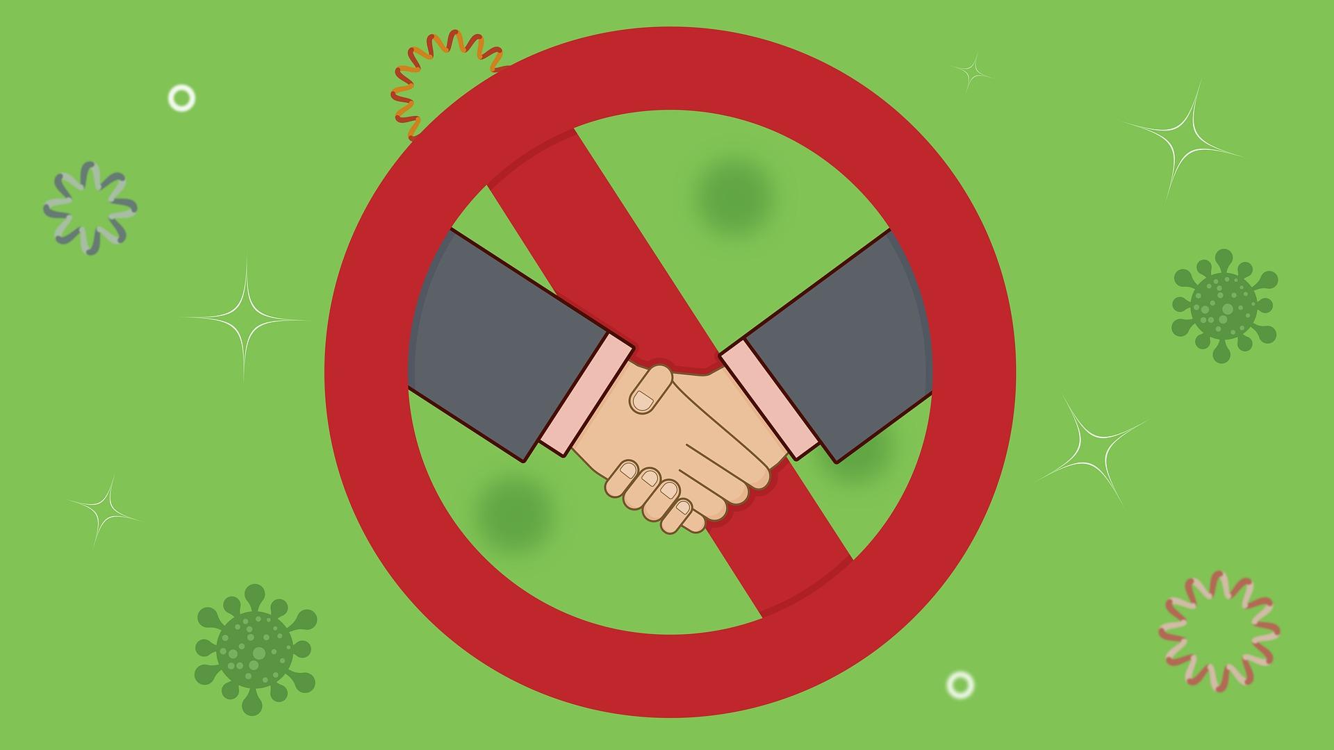 Stop handshake
